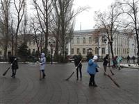 В Самаре прошел первый городской субботник