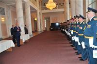 Николай Меркушкин поблагодарил командующих военными расчетами за организацию Парад Победы