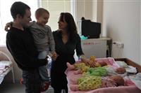 Из самарской больницы выписали первую тройню 2013 года