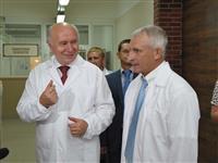 """Николай Меркушкин посетил пивзавод """"Жигулевское пиво"""""""