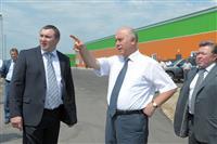 Николай Меркушкин осмотрел новые цеха Тимашевской птицефабрики