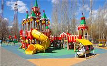 Площадка в парке Гагарина