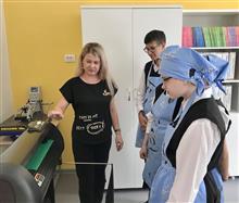 Обучать ребят школы-интерната профессиям будут в новых мастерских