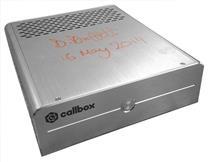 Продукт IP-АТС Callbox с росписью Дэвида Буффетт, топ менеджера компании Digium