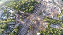 В районе Мехзавода в очередной раз изменена схема движения транспорта