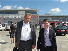 Представители компании Интелсенс Сергей Самохин и Дмитрий Мартышкин