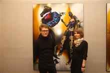 Куратор современного искусства Константин Зацепин с женой Светланой Зацепиной