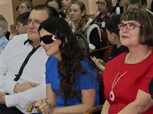 Диана Гурская в гостях у школы