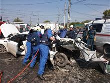 Водителя, погибшего на Кряжском шоссе, вырезали из разбитой Lada Granta