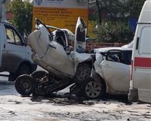 На Кряжском шоссе произошло жуткое ДТП
