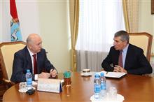 Николай Меркушкин провел рабочую встречу с Владимиром Аветисяном