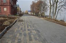 Рабочая группа посетила Набережную реки Волга и ознакомилась с ходом реконструкции исторической части города Мариинский Посад