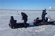 В Тольятти спасен пьяный рыбак, который лежал в 4 км от берега