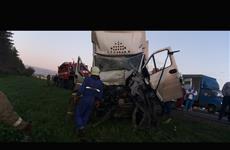 "Спасатели вырезали водителя ""Газели"", въехавшей в фуру"
