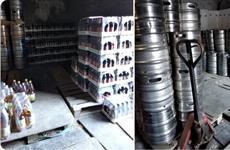 В Самаре нашли подпольный склад с 16 тыс. литров пива
