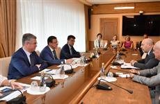 Дмитрий Азаров провел встречу с послом Израиля Гарри Кореном