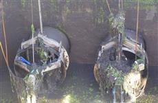 """""""РКС-Самара"""" вывезли шесть грузовиков нерастворимого мусора при очистке городских стоков"""