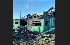 Два человека погибли при пожаре в Кошкинском районе