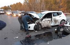 В Куйбышевском районе Самары в ДТП погиб мотоциклист