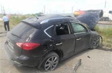 В Сызрани погиб водитель опрокинувшегося на обочине Infiniti