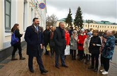 Нижегородские школьники представили Андрею Бетину аудиогид по Кремлю