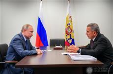 Президент России Владимир Путин провел рабочую встречу с Рустамом Миннихановым