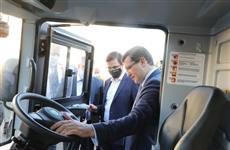 Глеб Никитин и Юрий Шалабаев передали новую коммунальную технику муниципальным предприятиям Нижнего Новгорода