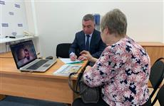 Сенатор Сергей Мамедов провел прием граждан в режиме онлайн