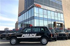 Полиция Монголии приобрела партию Lada 4×4