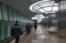 """Нижегородский минстрой держит на контроле исполнение подрядчиком гарантийных обязательств на станции метро """"Стрелка"""""""