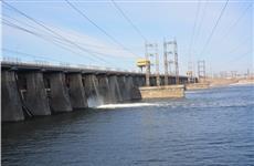 Жигулевская ГЭС начала сброс воды