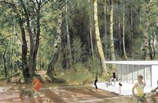 В конкурсе на концепцию Загородного парка победили студенты МАРХИ
