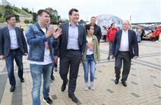 Глеб Никитин и Владимир Толстой приняли участие в фестивале #ВсеСвои