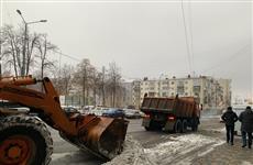 За ночь на самарские полигоны вывезено 24 тонны снега