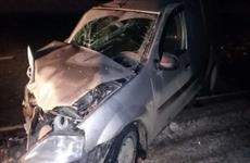 В Нефтегорском районе погиб пассажир Lada Granta из-за столкновения на встречке