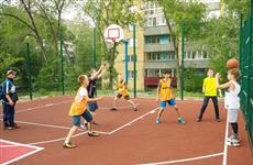 На ул. Осипенко в Самаре построили спортплощадку при поддержке Росбанка