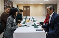 Глава Чувашии дал интервью журналисту из Японии