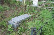В Самаре вандалы осквернили более 40 могил на одном из кладбищ