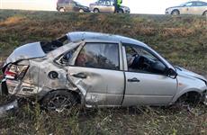 В Волжском районе пострадала пассажирка автомобиля под управлением нетрезвого водителя