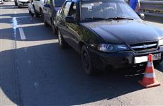 Пять машин попали в три ДТП на обводной дороге из-за несоблюдения дистанции