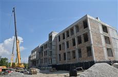Школу на 5-й просеке строят с опережением графика