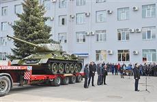 Легендарный танк отреставрировали к юбилею Победы