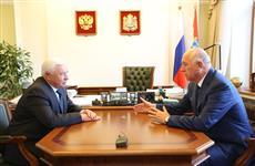 Николай Меркушкин провел рабочую встречу с Виктором Альтерготом