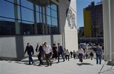 Строительство ледового Дворца спорта на ул. Молодогвардейской близится к завершению