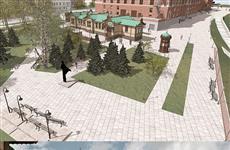 Появились эскизы Пушкинских павильонов у драмтеатра