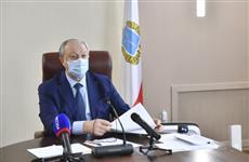 Валерий Радаев провел заседание координационного совета по противодействию распространению коронавируса
