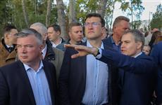 Глеб Никитин поручил проработать вопрос усиления безопасности в Светлоярском парке и устройства ливневой канализации