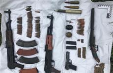 Под Сызранью нашли тайник с оружием и боеприпасами