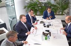 Игорь Шувалов и Александр Бречалов обсудили проекты развития городов Удмуртии
