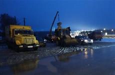 Почти 40 тысяч жителей Красноглинского района пять часов оставались без холодной воды из-за прорыва трубопровода